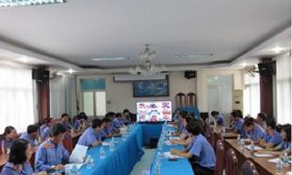 Viện kiểm sát nhân dân tỉnh Khánh Hòa tổ chức Hội nghị trực tuyến công tác kiểm sát 11 tháng đầu năm 2017