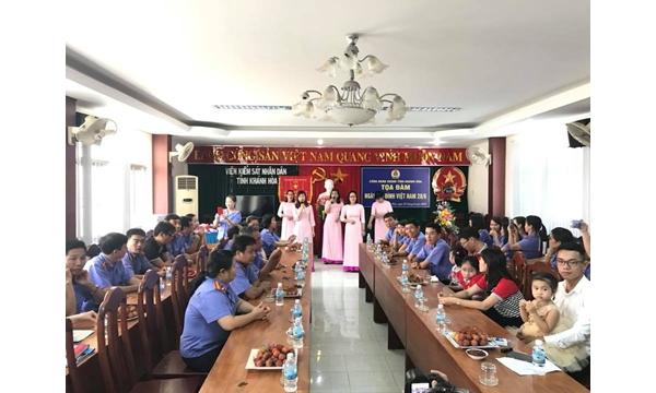 Công đoàn Viện kiểm sát nhân dân tỉnh Khánh Hòa tổ chức tọa......