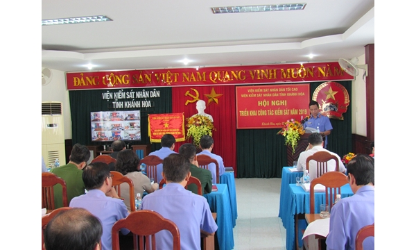 Viện kiểm sát nhân dân tỉnh Khánh Hòa tổ chức Hội nghị...