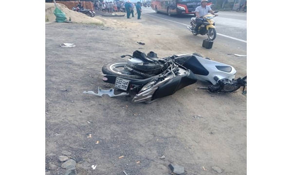Vụ tai nạn giao thông rất nghiêm trọng trên địa bàn...