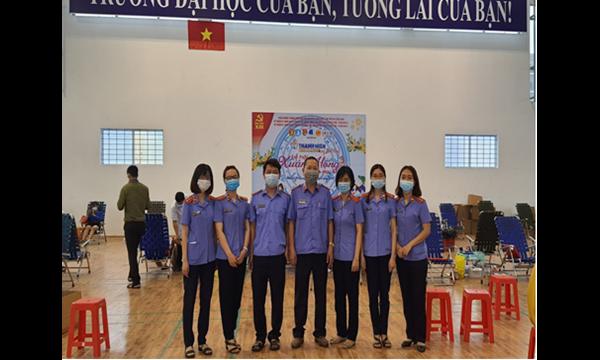 Thanh niên VKSND tỉnh Khánh Hòa hưởng ứng