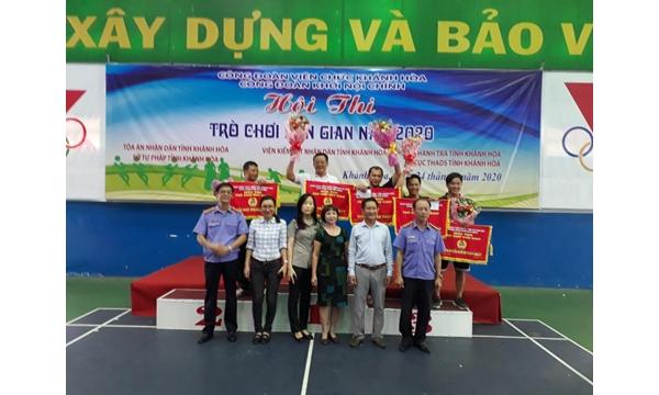 Công đoàn cơ sở VKSND tỉnh Khánh Hòa tổ chức Hội thi Công......