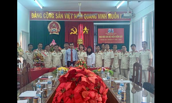 Viện Kiểm sát nhân dân huyện Diên Khánh tổ chức...