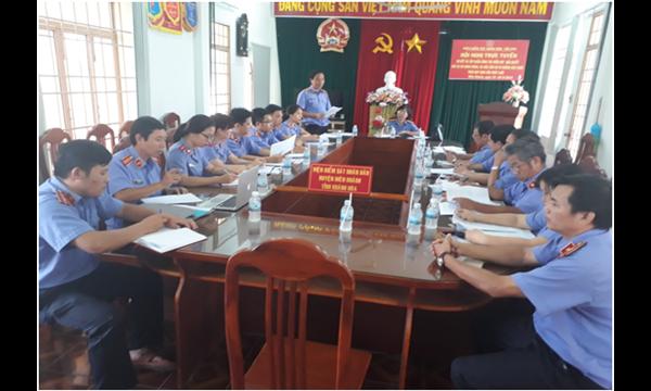 Viện kiểm sát nhân dân tỉnh Khánh Hoà tiến hành...