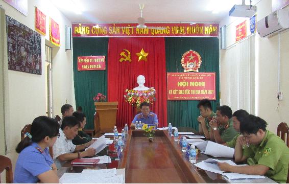 Viện kiểm sát nhân dân huyện Khánh Sơn tổ chức Hội...