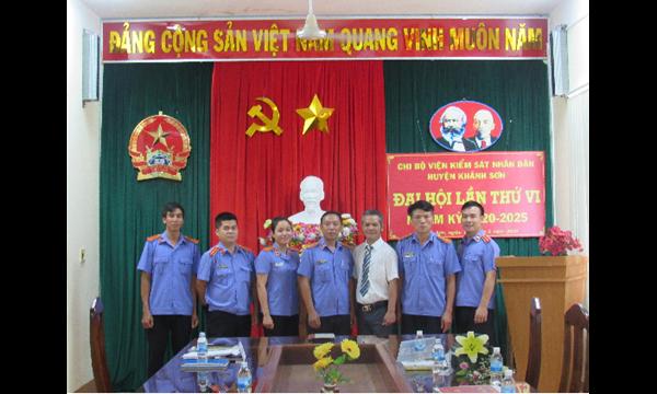 Đại hội Chi bộ Viện kiểm sát nhân dân huyện Khánh...