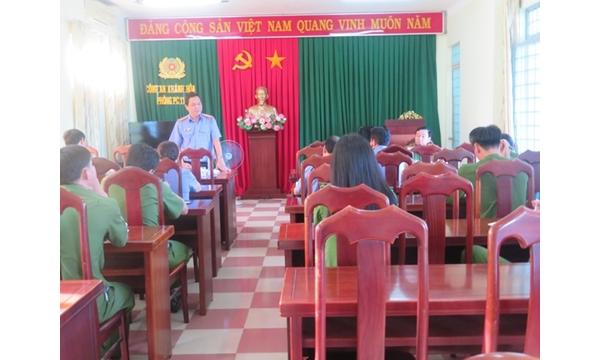 VKSND tỉnh Khánh Hòa kiểm sát Trực tiếp đột xuất...