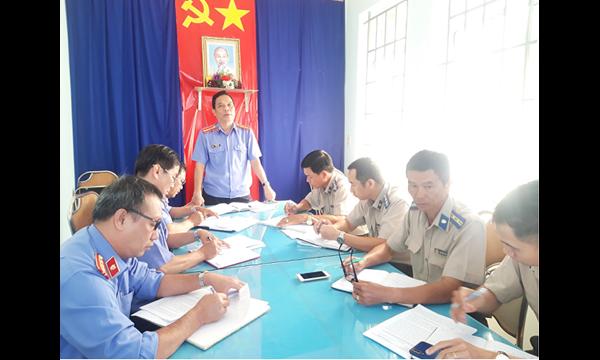 VKSND tỉnh Khánh Hòa tiến hành Phúc tra việc thực...