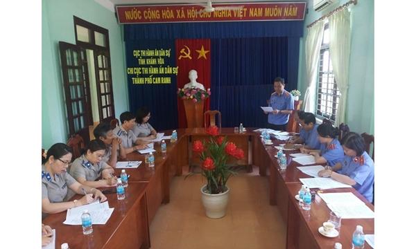 Viện kiểm sát nhân dân tỉnh Khánh Hòa trực tiếp...