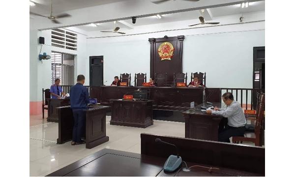 Tòa án nhân dân tỉnh Khánh Hòa đưa vụ án Nguyễn...