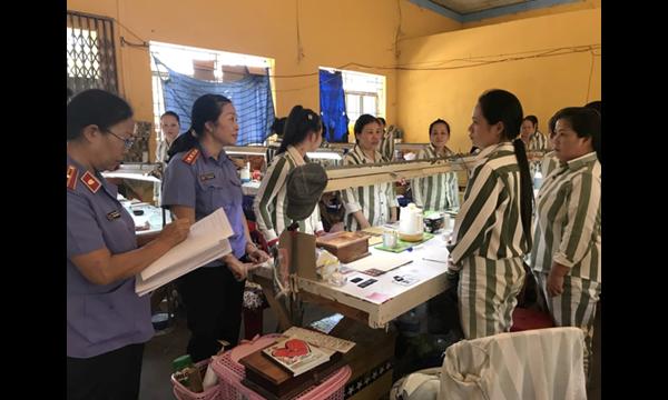 VKSND tỉnh Khánh Hòa Trực tiếp kiểm sát việc tuân theo pháp......