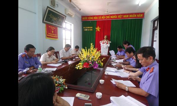 Viện kiểm sát nhân dân tỉnh Khánh Hòa Trực tiếp kiểm...