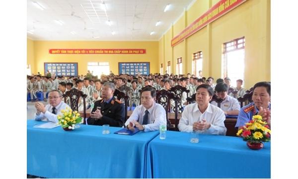 Viện kiểm sát nhân dân tỉnh Khánh Hòa dự lễ công...