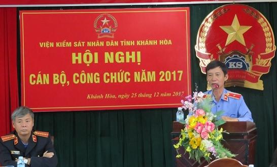 Ngành Kiểm sát Khánh Hòa tổ chức Hội nghị cán bộ,...