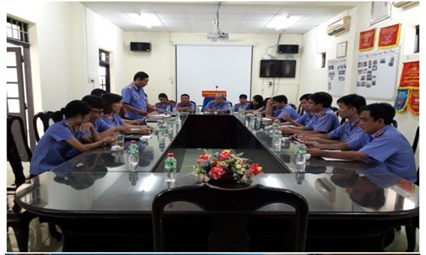 VKSND tỉnh Khánh Hòa thanh tra hành chính tại...